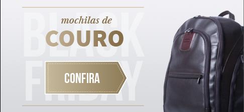 Mochilas de Couro - Black Friday