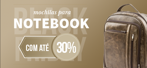 Malas para Notebook - Black Friday