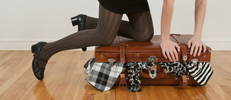 Arrumar mala de viagem