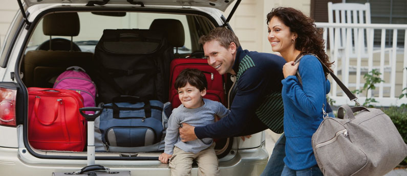 Malas para Viagem em Família