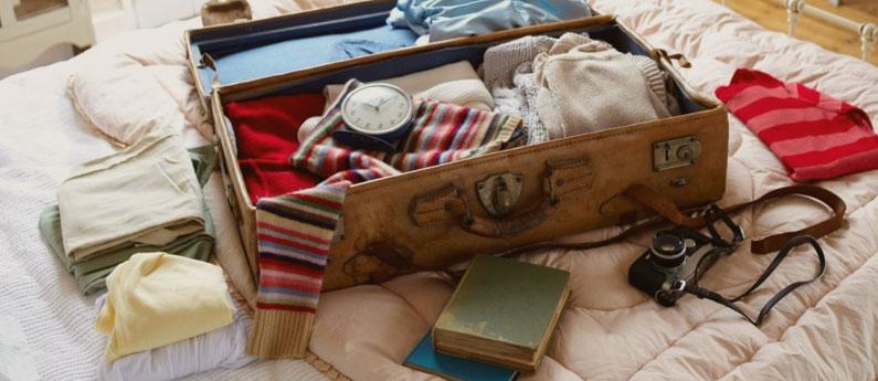 Como arrumar a mala de viagem