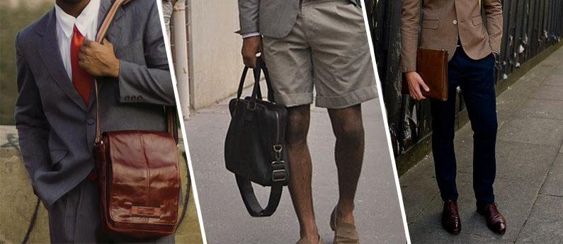 f25b28e24 Bolsas de Couro como acessório masculino! | Blog Cavezzale