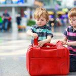 mala de viagem criancas