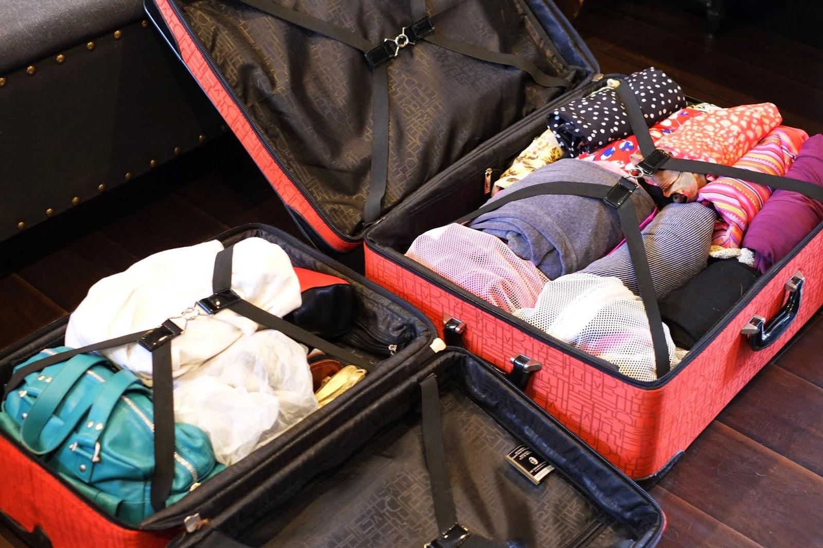 arrumar a mala de viagem para o inverno