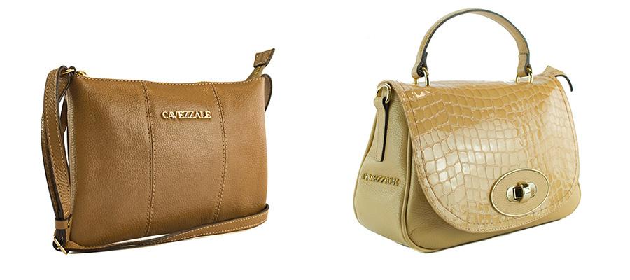 imagem de duas bolsas de couro