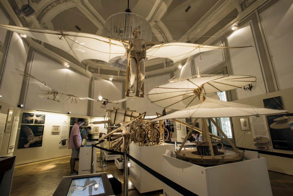 museu leonardo da vinci em milão