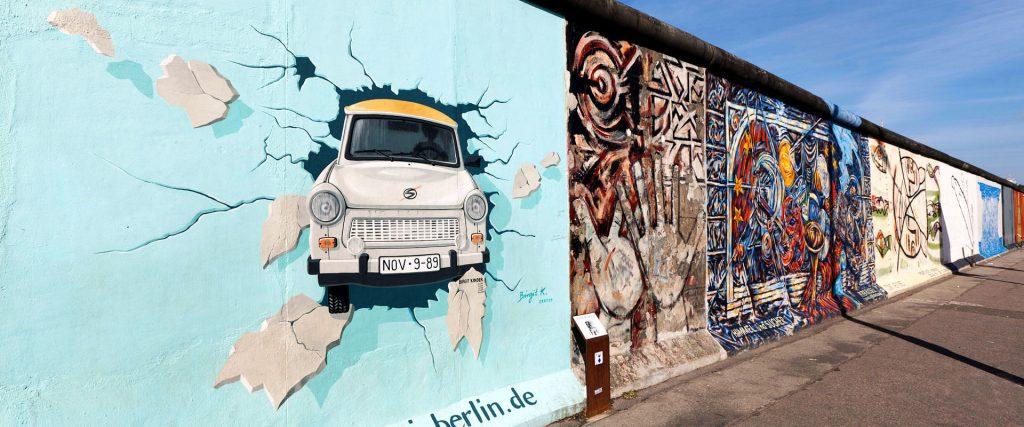 muro de berlim east side gallery