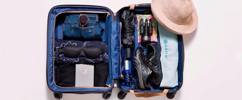 Como fazer caber mais coisas na mala de bordo?
