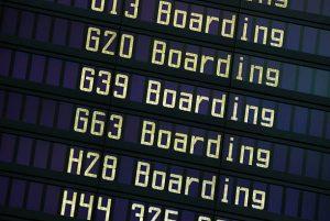embarque aeroporto