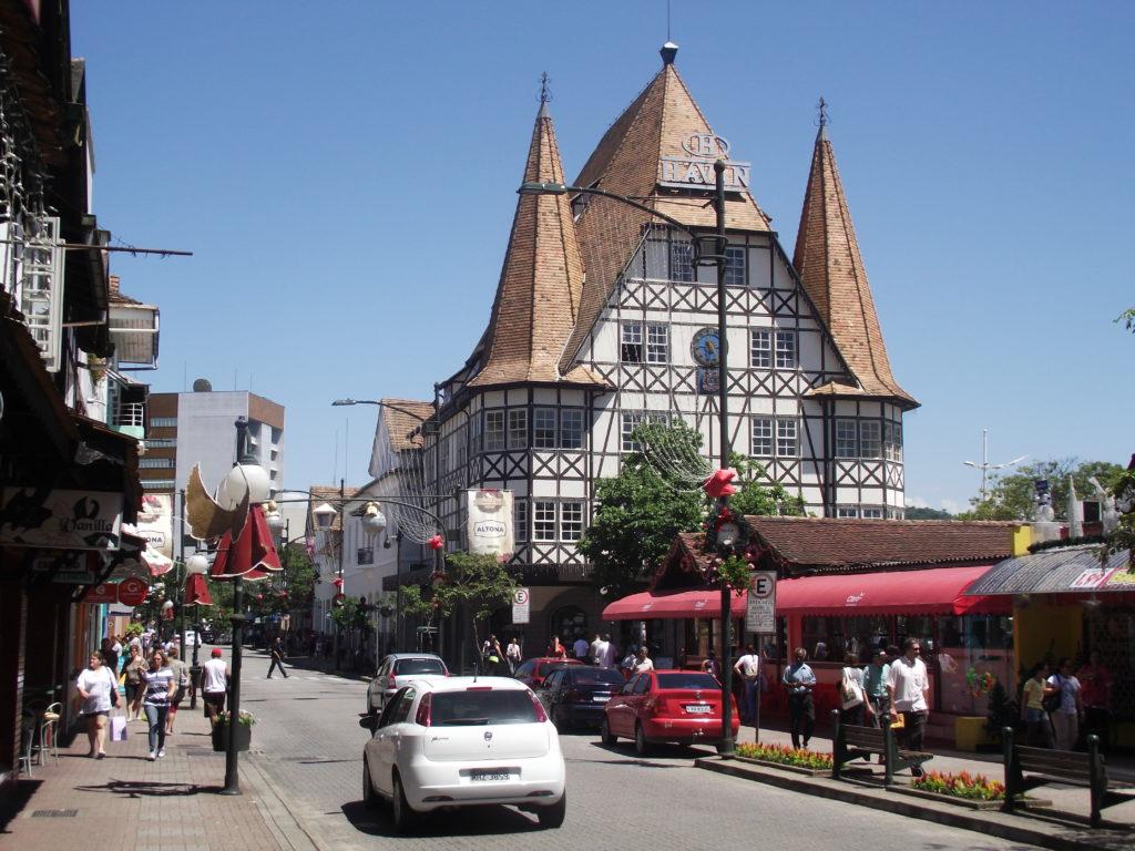 Blumenau - a capital alemã do Brasil