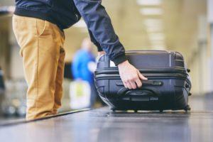 como manter a bagagem segura