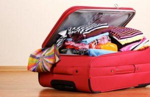 ganhar espaço na mala de viagem