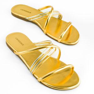 Sandália Ouro 102179