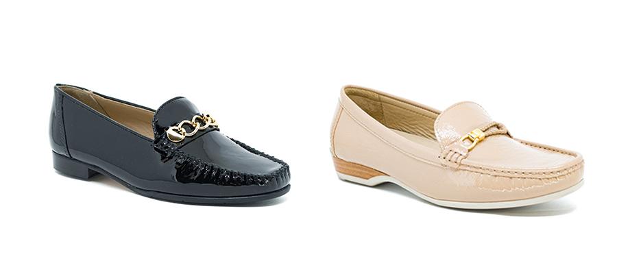imagem de dois sapatos mocassim